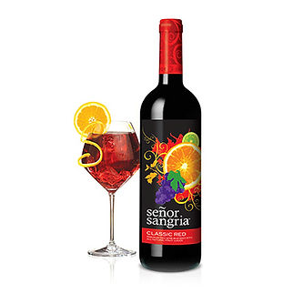Senor Sangria Classic Red Packaging