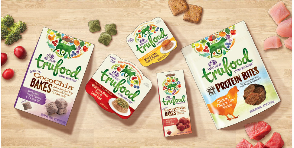 Wellness Trufood Holistic Petfood Package Design Scene Hughes BrandMix