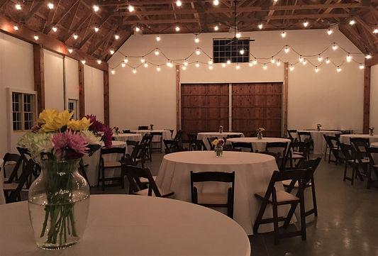 Wedding Barn Interior