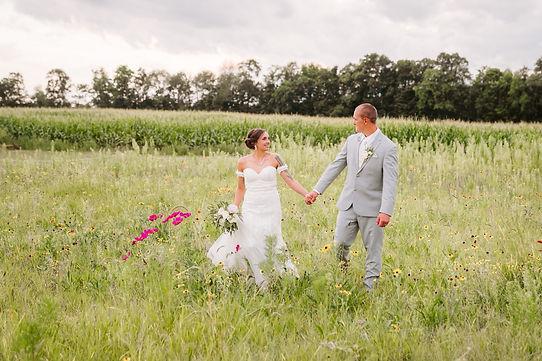 Wildflower Wedding Ceremony
