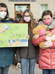 wir sagen nein Kinder gegen Testen Fulda