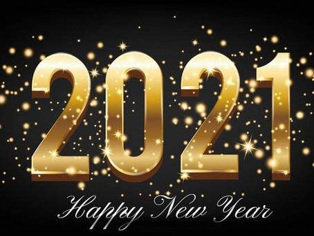 Happy New Year #2021!