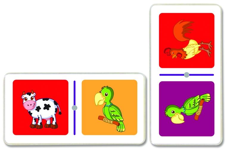 3044 Domino Animales
