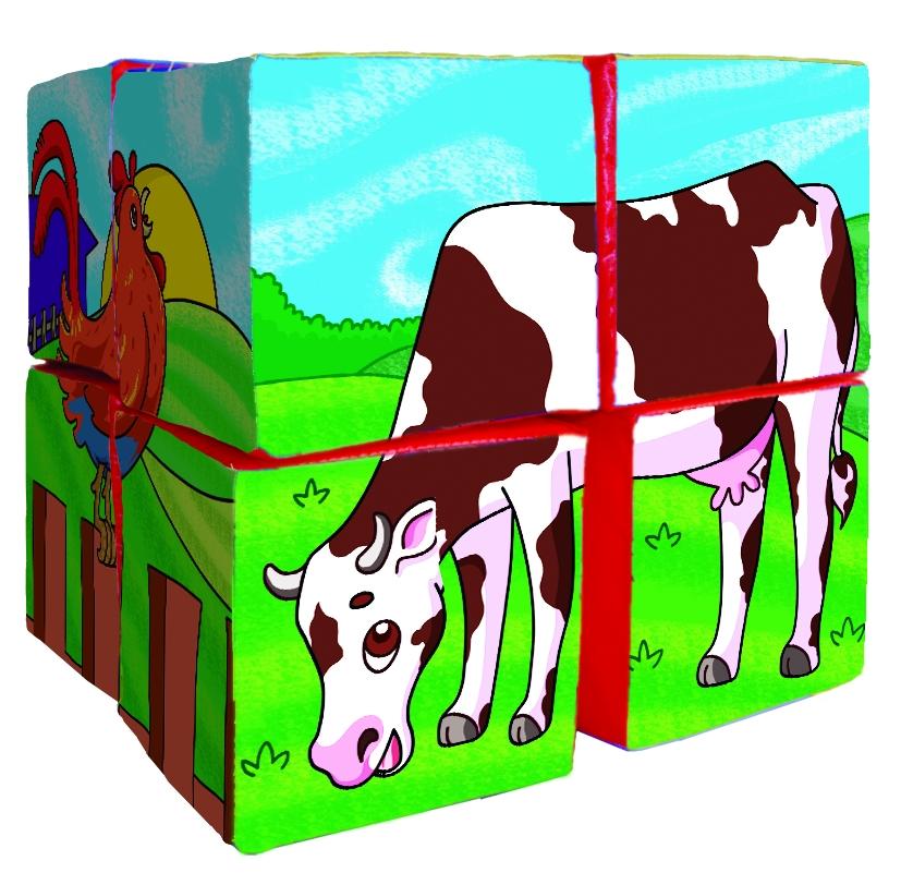 5129 cubo Rompe figuras granja