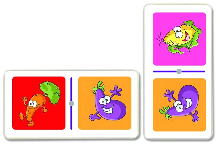 3047 Domino Verduras