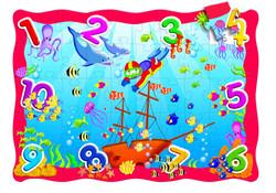 7009 Rompecabezas Mar