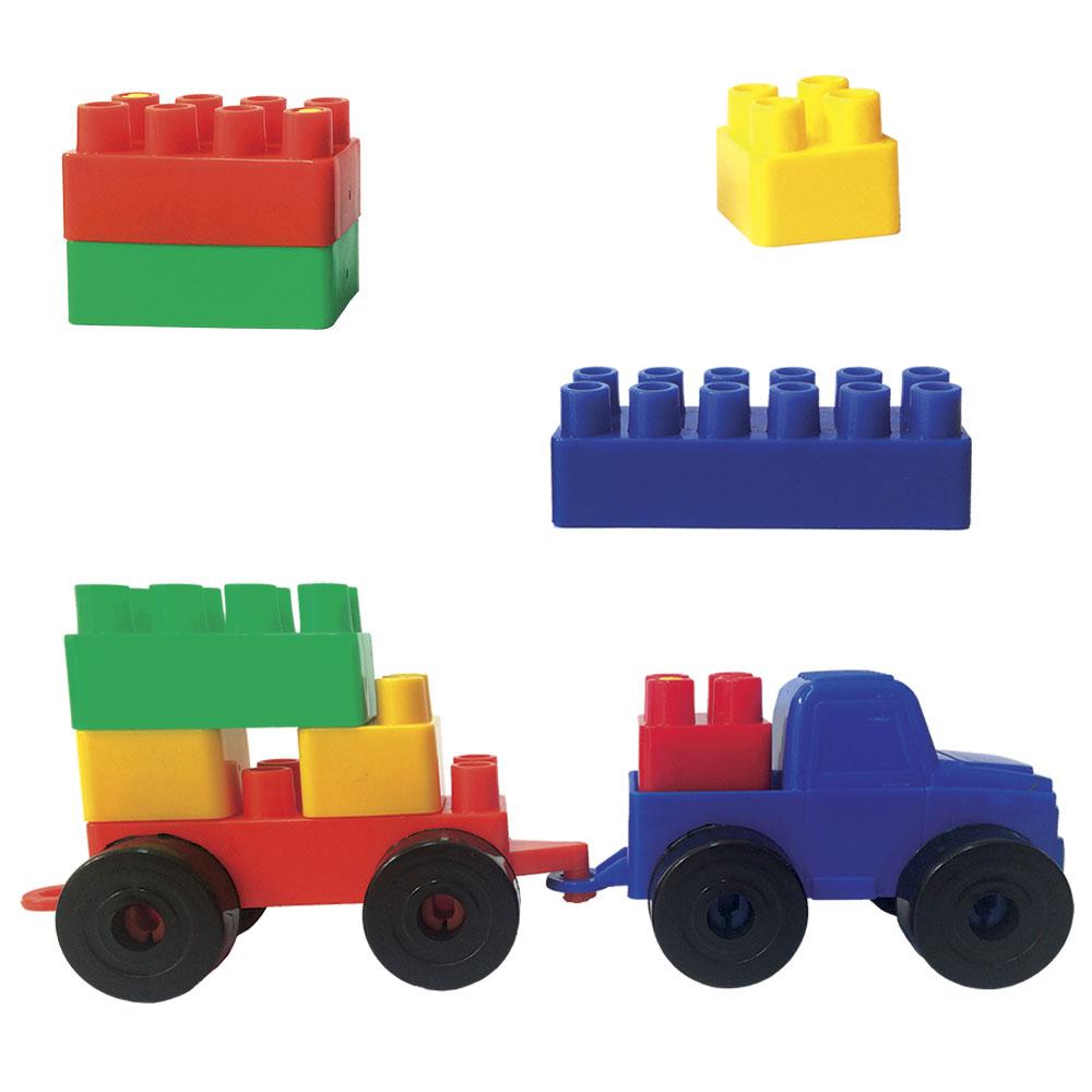 7209 remolque de bloques