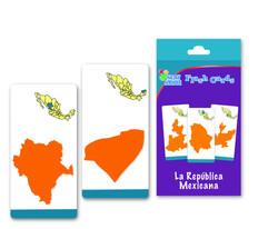 6021 Flash cards Estados Republica