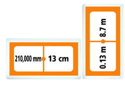 6071 Domino Longitud