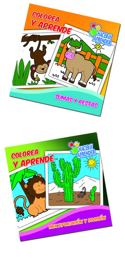 7115 libros colorear