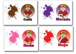 7021 FLASH CARDS COLORES