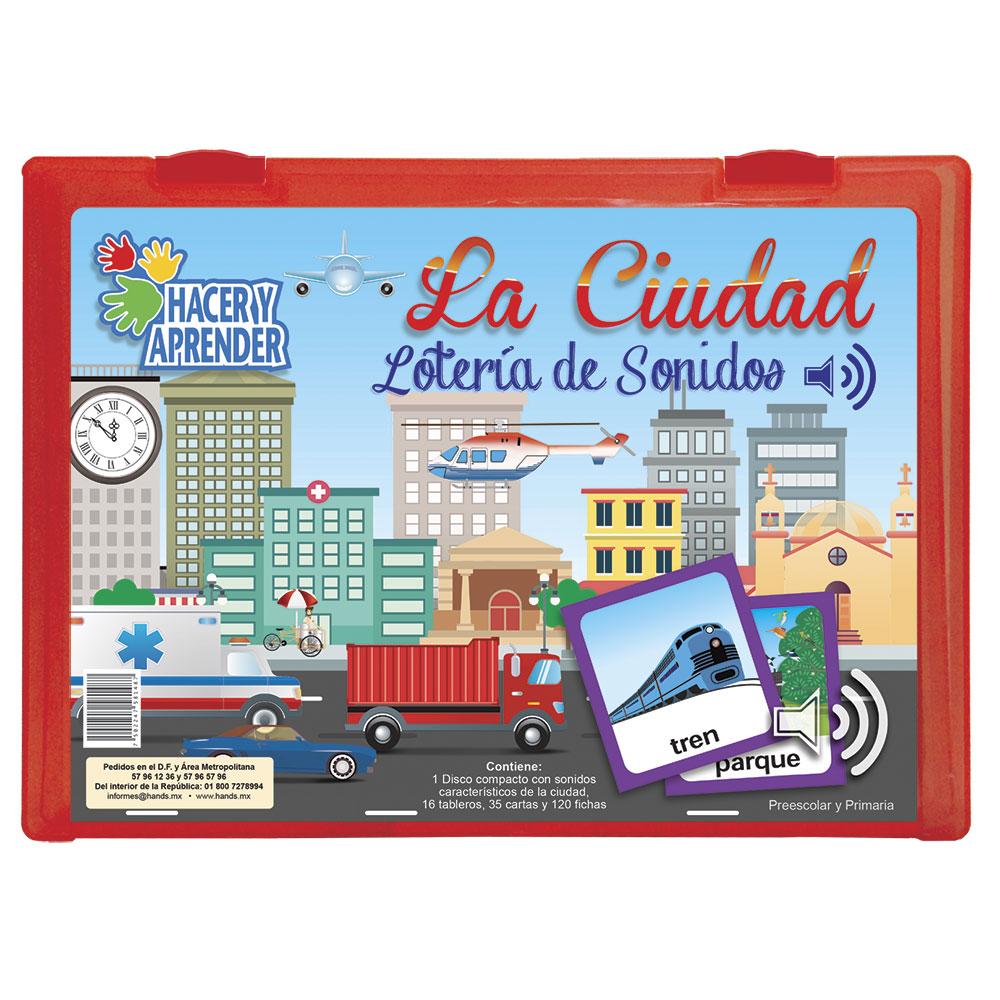 1053 Lotería de sonidos La Ciudad