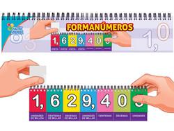 6052 Forma Números