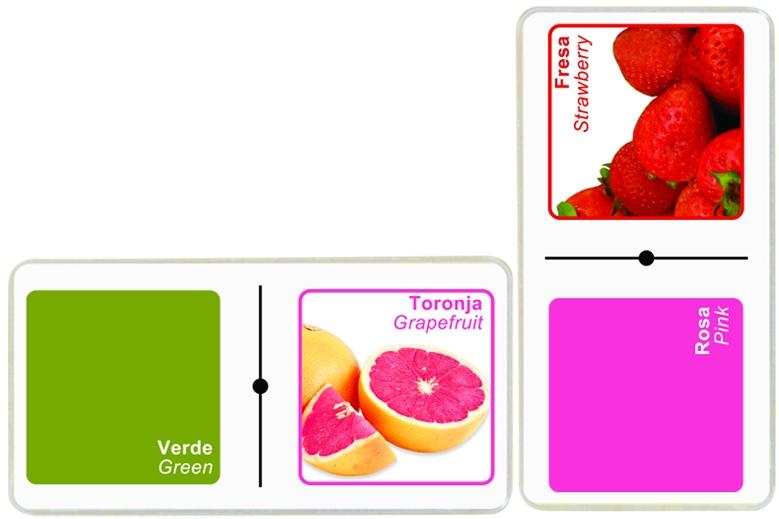 3160 Domino Colores y Frutas