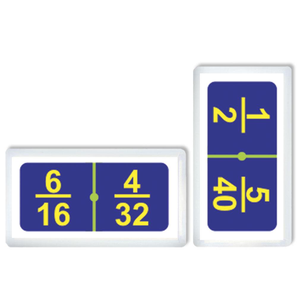 3387 Domino Fracciones Equivalentes