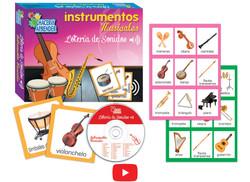 6090 Lotería de Sonidos Instrumentos Musicales