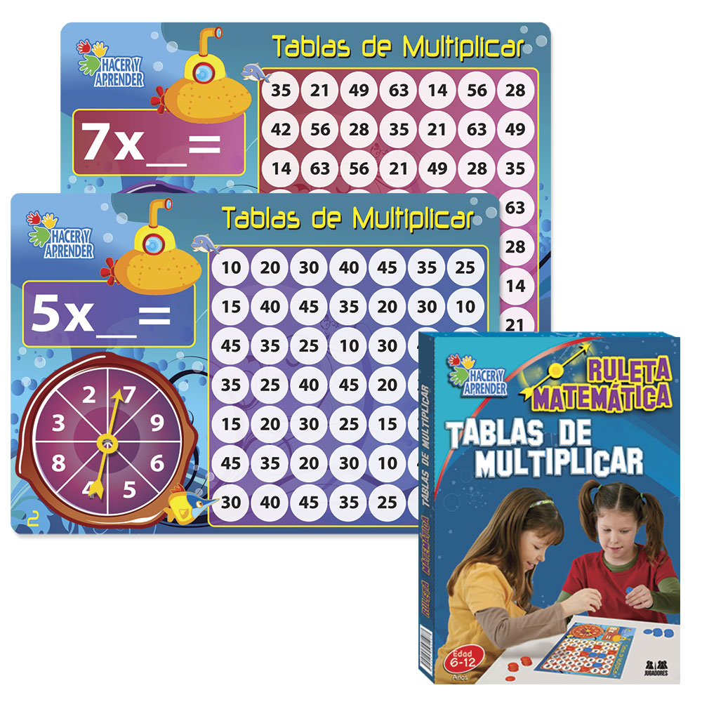 6067 Ruleta Tablas de Multiplicar