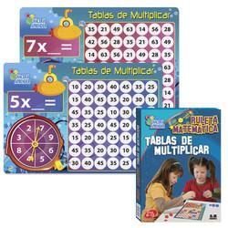 6067 Ruleta Tablas de Multiplicar
