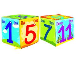 5068/5069 Cubo Numeros