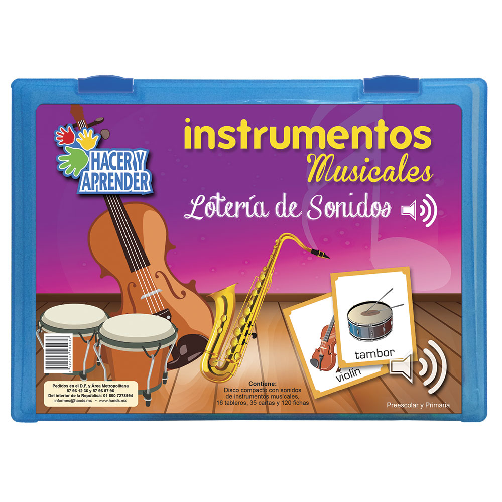 1054 Loteria de sonidos Instrumentos