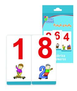 6018 Flash cards números
