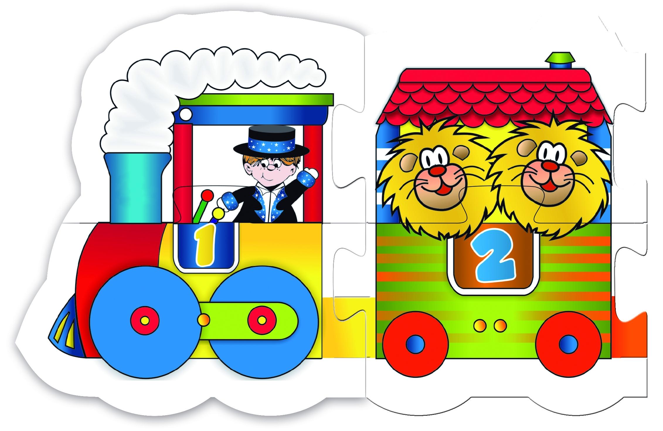 7011 Rompecabezas Tren