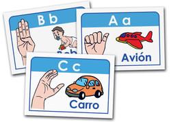 7020 FLASH CARDS ABECEDARIO
