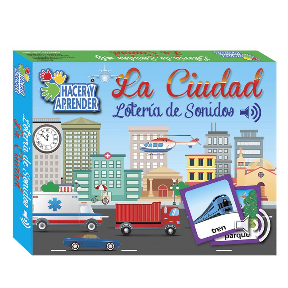 1050 Loteria de sonidos La Ciudad