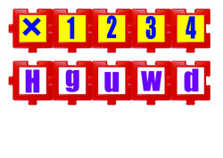2130 Carretilla didáctica números