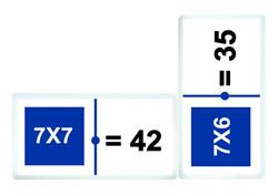 3159 Domino tablas de multiplicar