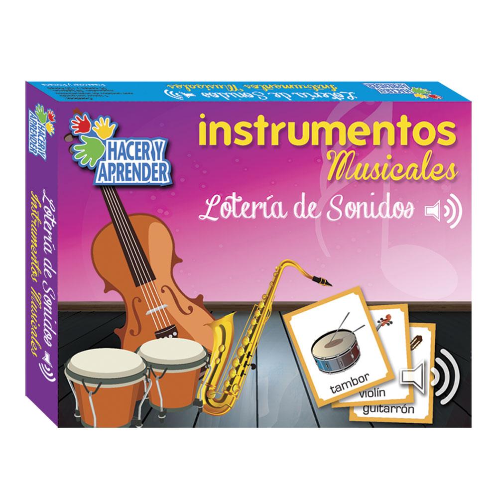 1051 Loteria de Sonidos Instrumentos