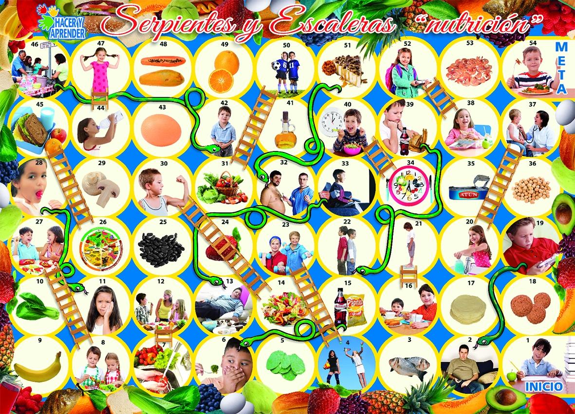 6085 Serpientes Escaleras Nutrición