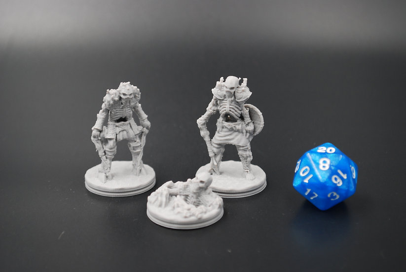 Skeleton Miniatures