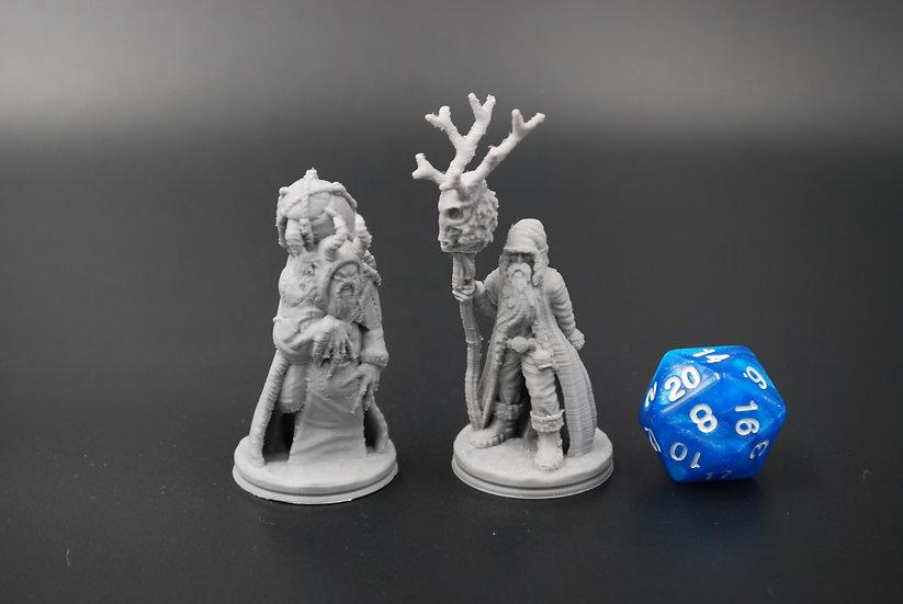 Klaus And Krampus Miniatures Set