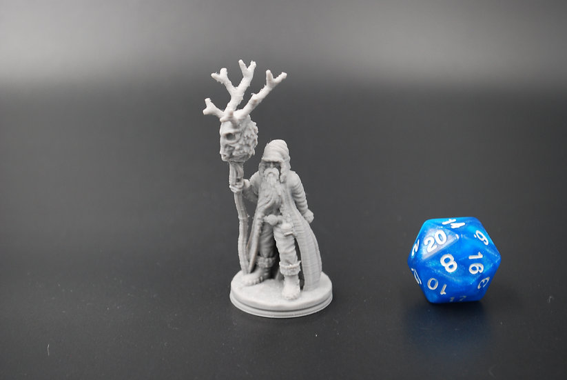 Klaus The Druid Miniature