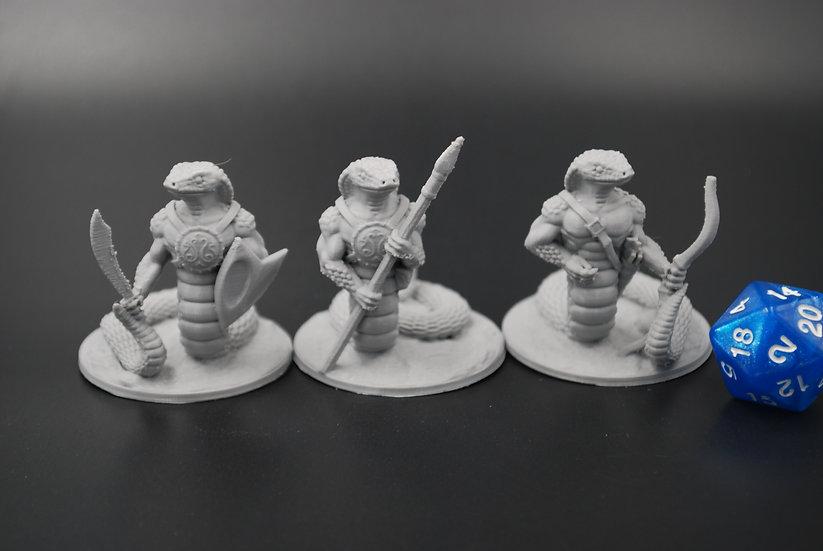 Snake Warrior Miniatures