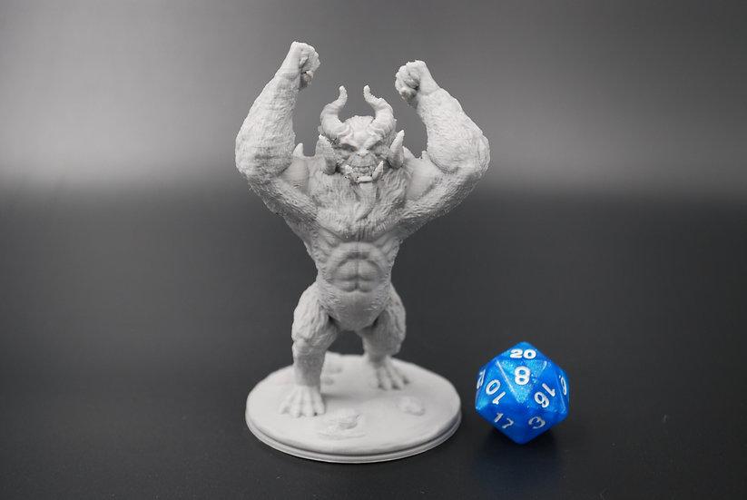 Angry Yeti Miniature
