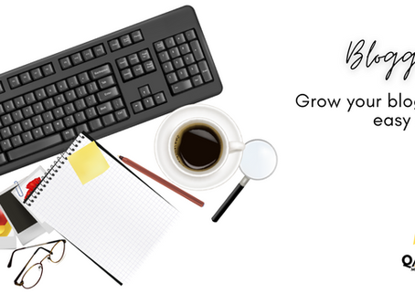 Grow your blog in 8 easy steps
