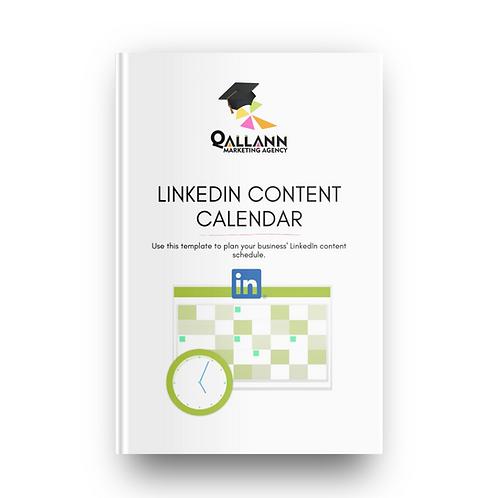 LinkedIn Content Calendar