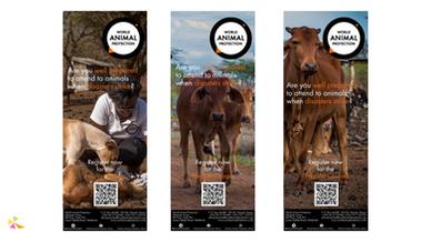 World Animal Protection Banners
