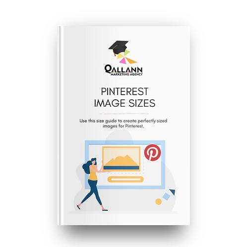 Pinterest Image Sizes Guide