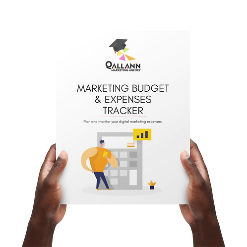 Marketing Budget & Expense Tracker