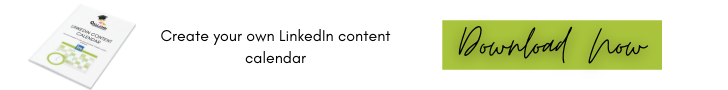 Download your LinkedIn Content Calendar
