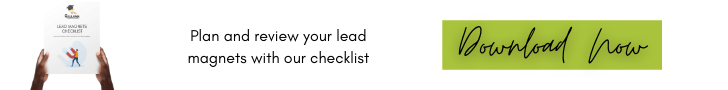 Download your lead magnets checklist.