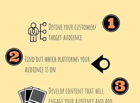 How to do social media marketing for beginners.