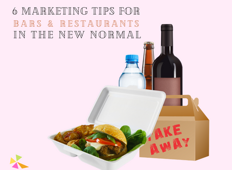 6 marketing tips for restaurants and bars in the new normal