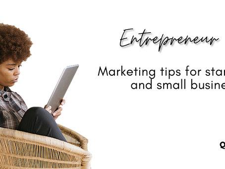 Marketing strategies for start-ups and small businesses