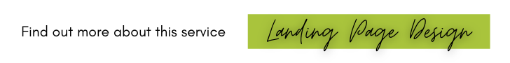Landing Page Design/ Web Design
