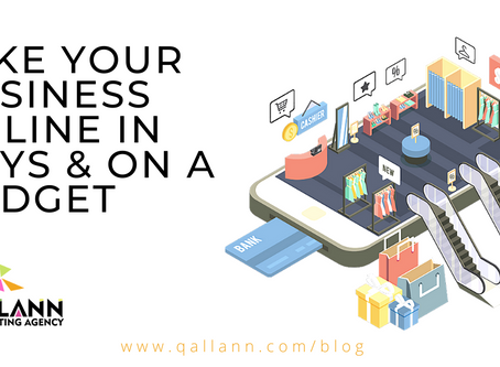 How to take your business online in days and on a budget.