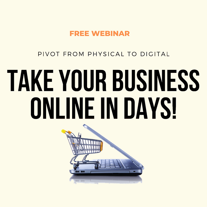 Take your business online in days